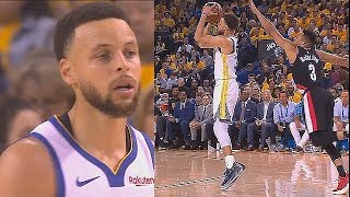 Stephen Curry Goes Crazy With Klay Thompson In Game 1! Trail Blazers vs Warriors Game 1