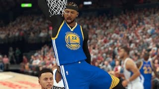 NBA 2K17 MyCareer Warriors vs Lakers Playoffs Time  Game Play On Xbox One