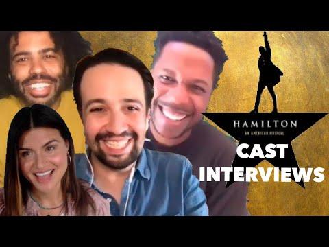 HAMILTON Cast Talks New Movie: Lin-Manuel Miranda, Leslie Odom Jr., Daveed Diggs, Phillipa Soo