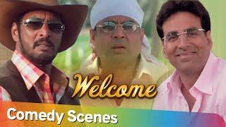 Welcome | Best Comedy Scenes | Akshay Kumar-  Paresh Rawal - Nana Patekar | Bollywood Comedy
