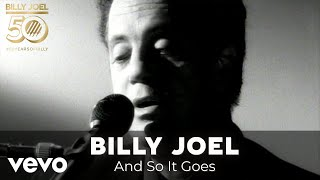 Billy Joel - And So It Goes (Official Video)
