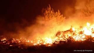 12-25-15 Ventura County Fire Department - Solimar Incident