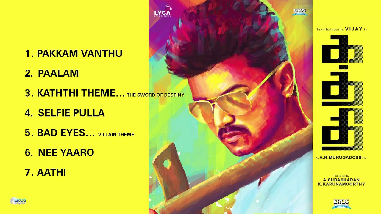 Kaththi – Jukebox (Full Songs)