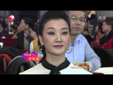 百花迎春-中国文学艺术界2015春节大联欢 2015 China Literary and Art Circles Spring Festival Gala HD