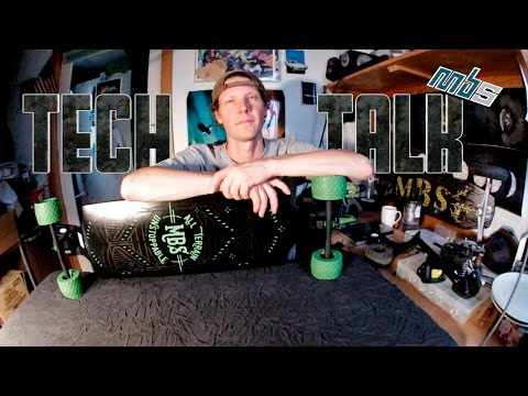Tech Talk Episode 6 - All Terrain Longboard