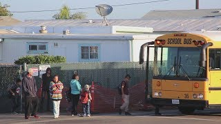 Kids living in Tijuana are going to school in the United States