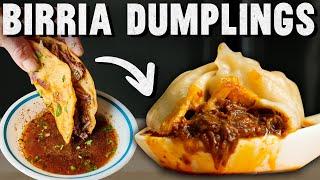 Birria De Res Soup Dumpling Recipe