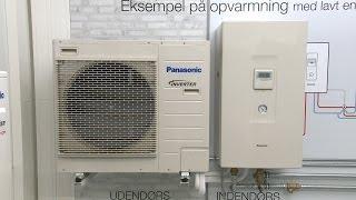 Panasonic luft/vand varmepumper fra Solar