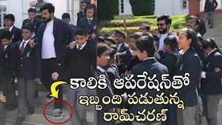 Watch: Ram Charan Visits His School In Tamilnadu: Lawrence..