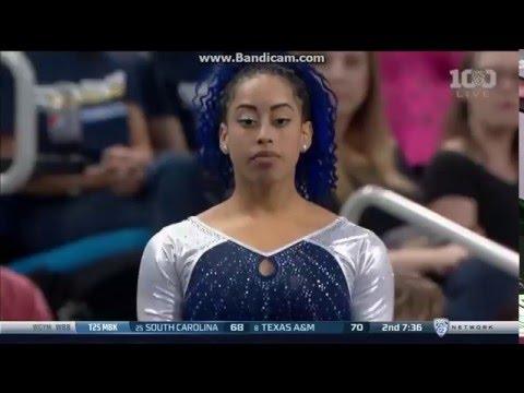 Sophina DeJesus UCLA (9.925) Floor Routine vs Utah