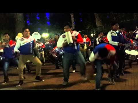 Banda Proyeccion San Andres - plaza de mayo - Argentina 17/10/14