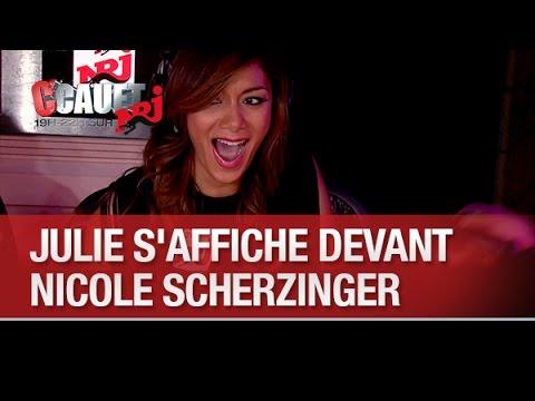 Baixar Julie s'affiche devant Nicole Scherzinger - C'Cauet sur NRJ