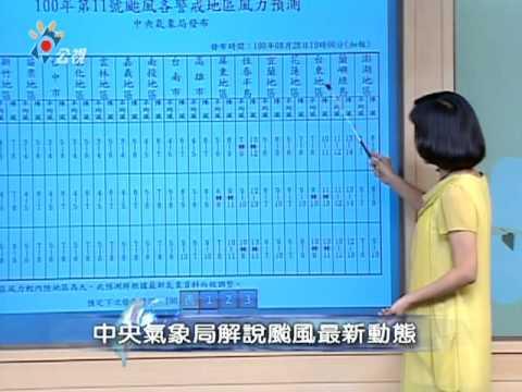 0828 2030 南瑪都颱風動向預報