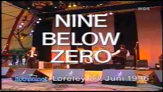 Nine Below Zero & Band Of Friends Rockpalast 23 June 1996  part 1/2