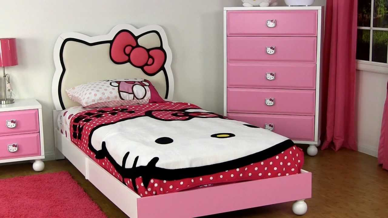 hello kitty bedroom furniture hello kitty bedroom set home design inside 15539