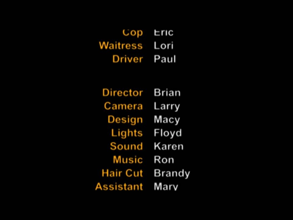 Displaying (19) Gallery Images For Movie End Credits Format...