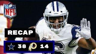 Dallas Cowboys vs Washington Redskins Week 13 Thursday Night Football Recap | The Boys are BACK?