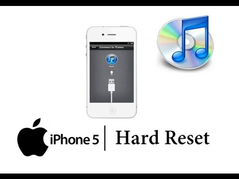 how to reset my iphone 5 reset apple iphone 5 w itunes master data wipe 19026