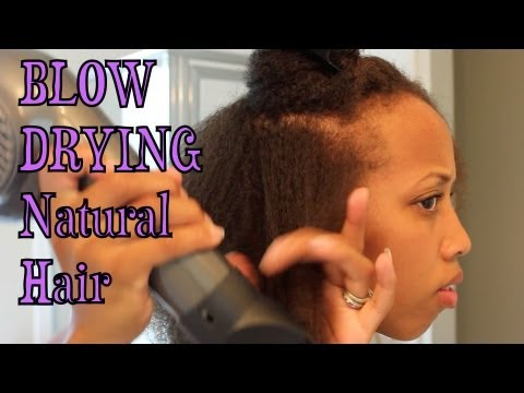 blow dried natural hair styles how i my hair 1598 | hqdefault