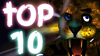 Top 10 Most Strange & Interesting Theories! || Five Nights At Freddys 1 & 2