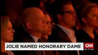 Angelina Jolie Named Honorary Dame