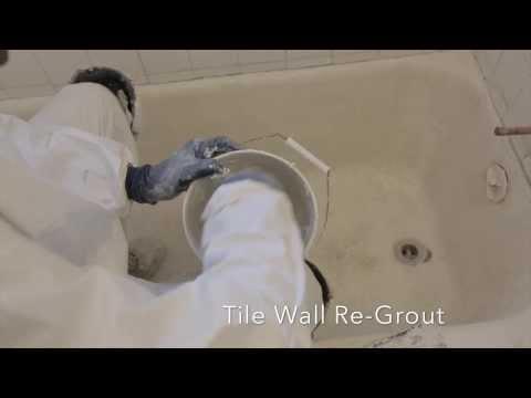 Tile Regrouting Laurel MD | Custom Tub and Tile