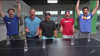 Dude Perfect Vs Now Perfect Water Bottle Fliping