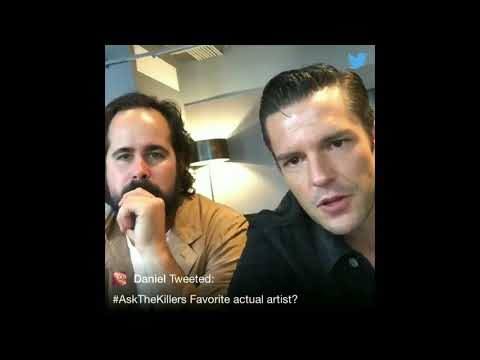 #AskTheKillers on Twitter - Brandon Flowers and Ronnie Vannucci - 20/09/17