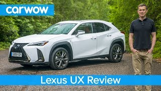Lexus UX SUV 2020 in-depth review   carwow Reviews