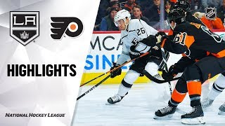 NHL Highlights | Kings @ Flyers 1/18/20