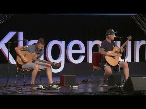 The Most Unexpected Acoustic Guitar Performance   The Showhawk Duo    TEDxKlagenfurt
