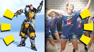 Overwatch Dance Refrences Side by Side (2018)