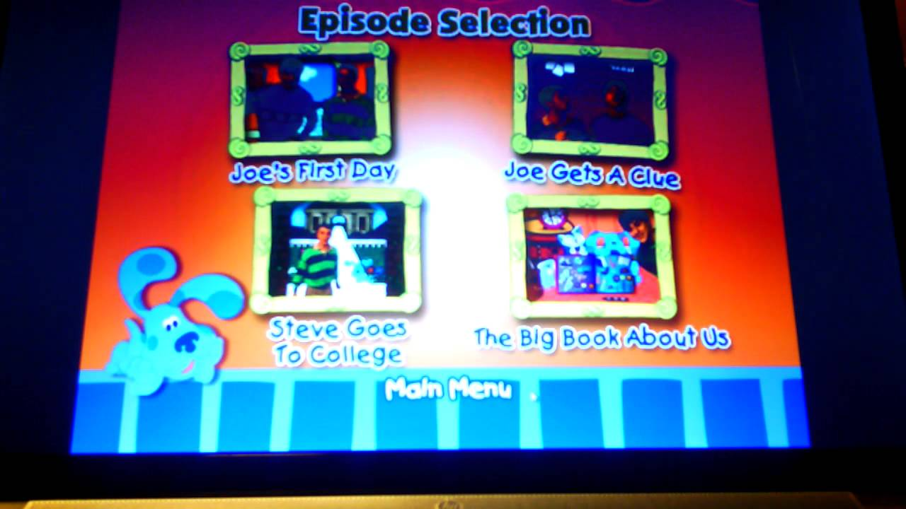Blue S Clues Get To Know Joe Youtube