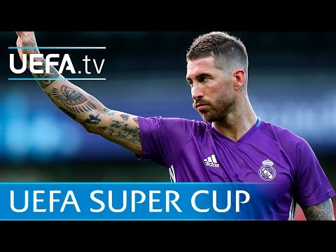 Zidane & Ramos skills: Real Madrid prepare for the Super Cup