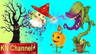 Trò chơi KN Channel BÉ TẬP LÀM PHÙ THỦY   BÚP BÊ GIẢI CỨU GẤU CON TRONG LÂU ĐÀI HẮC ÁM TẬP 2