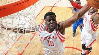 Clint Capela Rookie Season Highlights w/ Houston Rockets