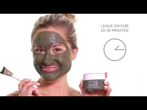 bareMinerals Tutorial: Dirty Detox Mud Mask