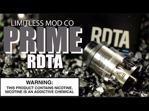 video Limitless Mod Co Rdta Prime