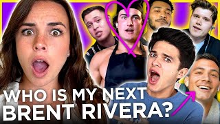 Pierson dates 6 GUYS to find her next Brent Rivera | Date Drop