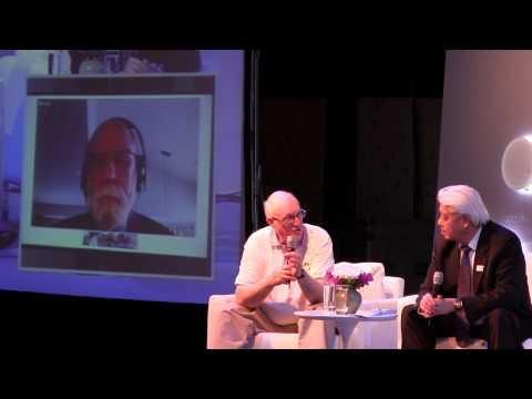 Dr. Vint Cerf and Dr. Steve Crocker at INET Bangkok's Opening ...