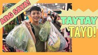 TAYTAY TIANGGE | GANDA ng Polo Shirts! (Nakakaadik Bumili!) NEW HAPPY PLACE