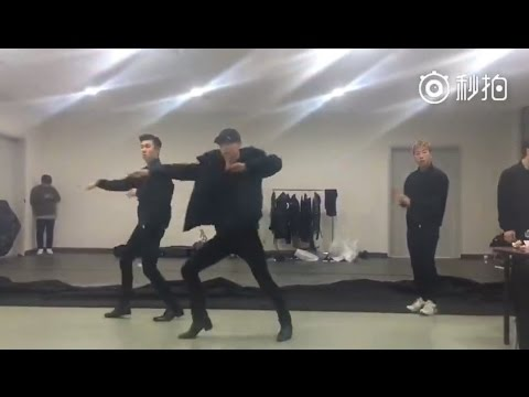 161231 Zhang Yixing LAY dancing to NLT Let Me Know (Lyle Beniga Choreography)