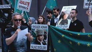 Стамбул: акция черкесов в поддержку Аднана Хуаде