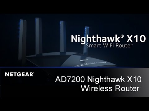 video NETGEAR Nighthawk X10 Smart WiFi Router