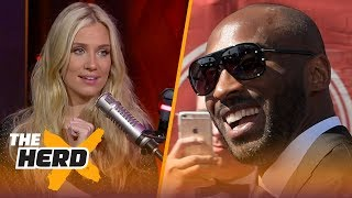Kobe wants MJ or Phil Jackson to present him for Hall of Fame - Kristine and Colin react | THE HERD