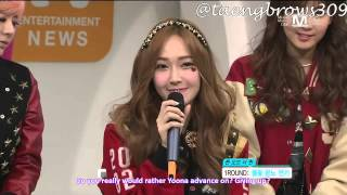 [ENG SUB] 130103 SNSD - Queen of the Queen @ Mnet Wide Studio (1/2)