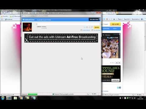como hacer una radio con www.ustream.com