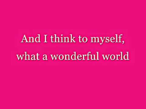 Connie Talbot - Wonderful World with lyrics
