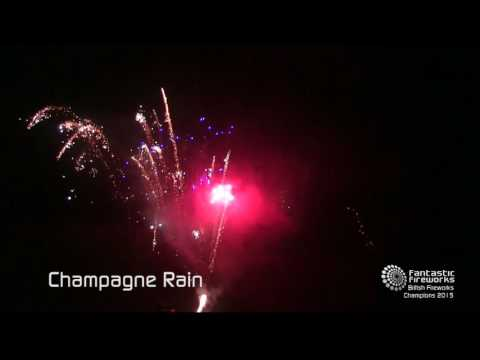 Fantastic Fireworks Champagne Rain - 61 shot barrage