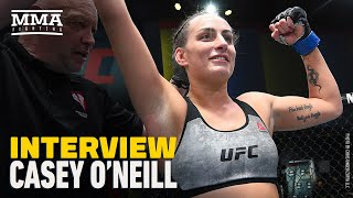 Casey O'Neill Felt Like She 'Blacked Out' During Successful UFC Debut - MMA Fighting